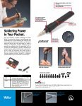Portasol® Cordless Soldering Tool Brochure ® Cordless Soldering ... - Page 2
