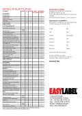 easylabel® 5 - EASYLABEL Europa - Page 6