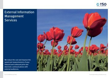 External Information Management Services (PDF - 339KB)