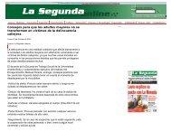 Chile: Consejos para que los adultos mayores no se transformen en ...