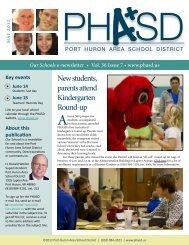 May 2012 - Port Huron Area Schools