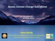 Alaska Climate Change Subcabinet - Climate Change in Alaska ...