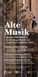 Alte Musik - magni-kirche.de