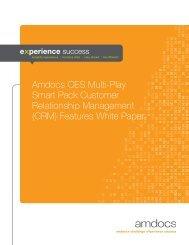 Amdocs CES Multi-Play Smart Pack Customer Relationship ...