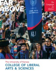 Download the College's case statement. - KU Endowment