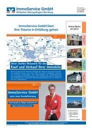 Kauf und Verkauf Ihrer Immobilie ImmoService GmbH
