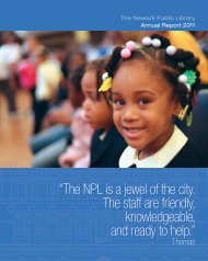 Annual Report for 2011 - Newark Public Library