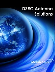 DSRC Antenna Solutions Ant - Mobile Mark
