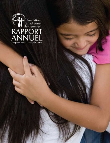 2007-2008 (PDF) - Canadian Women's Foundation