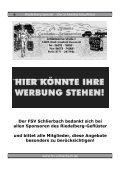 2009 Der SchlierBachGauPokal - FSV Schlierbach - Seite 6