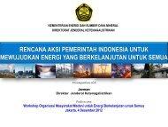 Rencana Aksi Pemerintah Indonesia untuk Mewujudkan ... - IESR