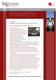 Newsletter WTC Bremen (February 2009)