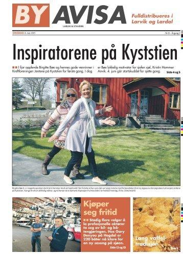 Kjøper seg fritid Lang vaffel - Byavisa Larvik & Stavern