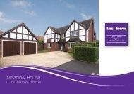 'Meadow House' - Lee Shaw Partnership