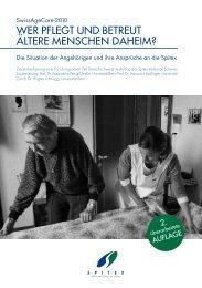 wer pflegt und betreut ältere menschen daheim? - SAGW