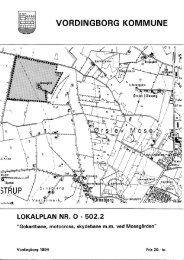 Lokalplan nr. O - 502.2 - Vordingborg Kommune