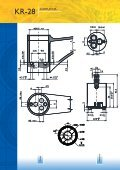 Cartuccia Rotativa a Dischi Ceramici Diametro 28 mm Modello KR-28 - Page 2
