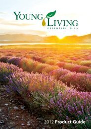 2012 Product Guide - Young Living