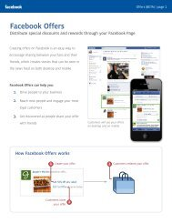 Facebook Offers - Facebook Studio