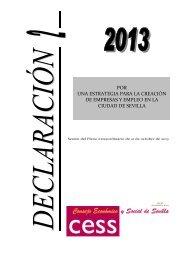 Declaración del CESS para la creación de empleo y empresas