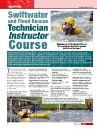 Water Rescue Ad - Fire Times - Technical Rescue Magazine