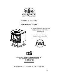 Owner's Manual Drolet Yukon Oil Stove