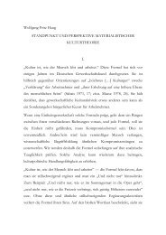 mat kulturtheorie 1.rtf - Wolfgang Fritz Haug