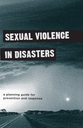 A planning guide for prevention and response - Louisiana ...