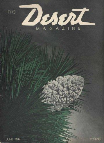 Desert Magazine from June 1944 PDF Document - Surrey ...