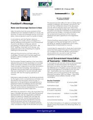 Newsletter 1 - 4 February 2008 - Local Government Association of ...