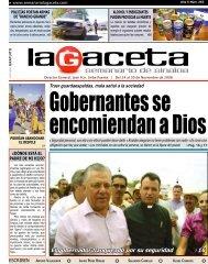 El gobernador flanqueado por su seguridad 16 - SEMANARIO LA ...