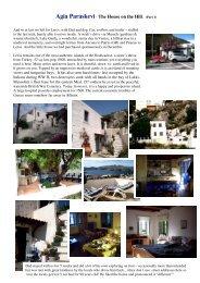 Agia Paraskevi- The House on the Hill. (Part 1) - S/Y Havana