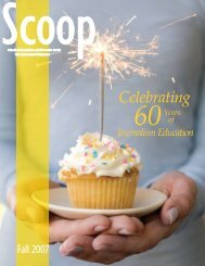 Fall 2007 - SCOOP Magazine
