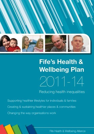 Fife's Health & Wellbeing Plan - Home Page