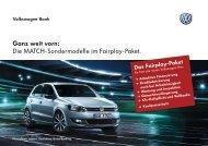 Info-PDF zum Fairplay-Paket - Volkswagen AG