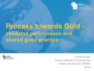 Process towards Gold -