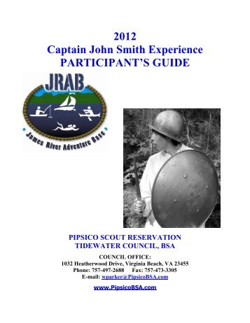 Captain John Smith Experience - Tidewater Council