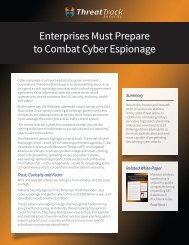 Enterprises Must Prepare to Combat Cyber Espionage - Workcast