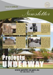 Council Newsletter Autumn 2009 - Town of Gawler - SA.Gov.au
