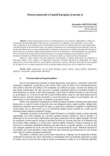 Articol RO - Universitatea George Bacovia