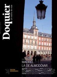 MADrID, LA De ALMoDÓVAr - revista doquier