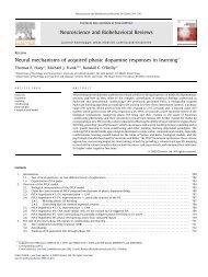 Neural mechanisms of acquired phasic dopamine ... - Michael Frank