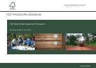 FSC-PRO-60-002B 1st Consultation PDF, Size - Forest Stewardship ...