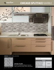 ChICAgO SpLItfACE MArble - Ames Tile & Stone