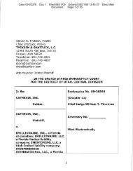 Cathexis Complaint - Frauds and Scams