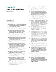 Chapter 99 Sports Dermatology - McGraw-Hill Medical: Fitzpatrick's ...