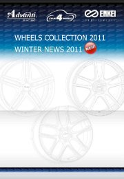 WHEELS COLLECTION 2011 WINTER NEWS 2011