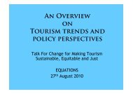 An Overview on Tourism Trends and Policy Perspectives in North ...