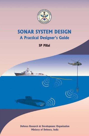 sonar system design - DRDO