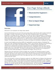 How to Create a Facebook Business Page - Zephyr Marketing